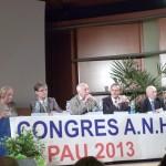 Podium congrès Pau 2013
